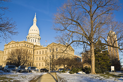 Michigan competing for jobs