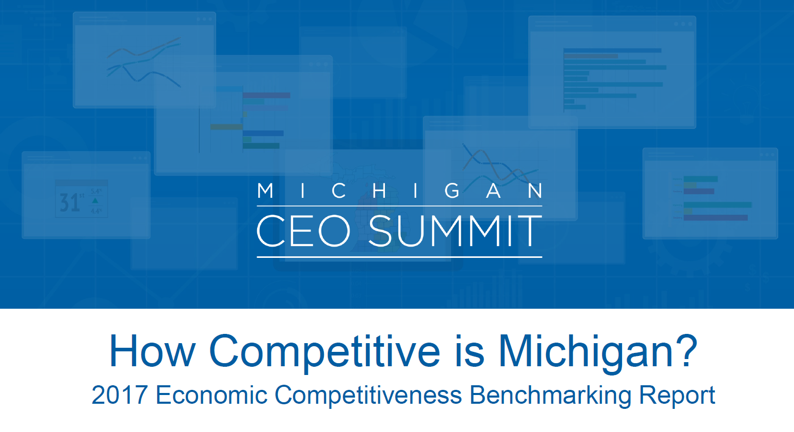 CEO Summit Benchmarking Cover