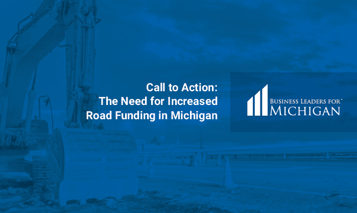 Business Leaders For Michigan Issue Infrastructure Call To Action At Lansing Event Release New Report Outlining Transportation Funding Solutions Business Leaders For Michigan